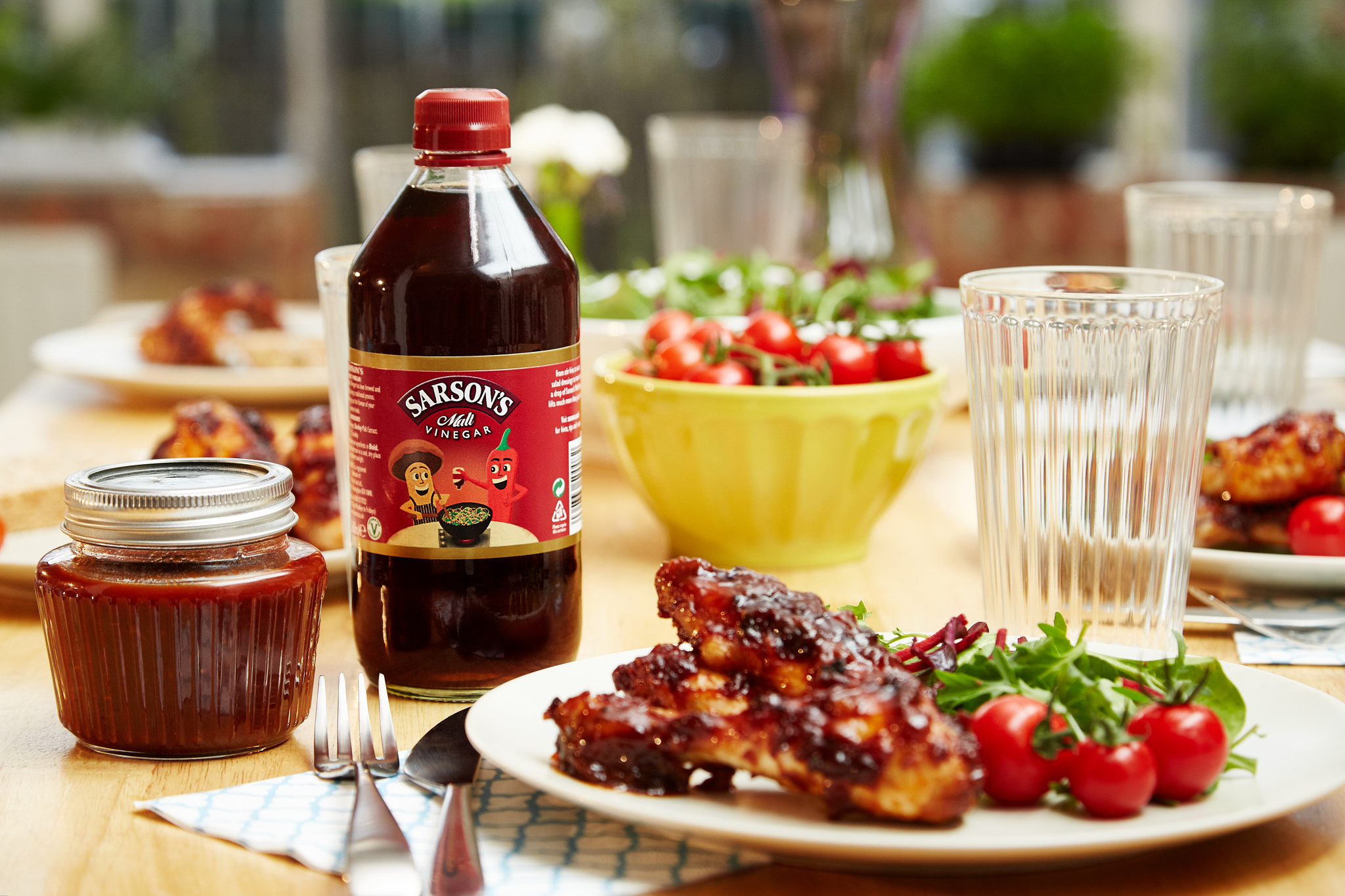 Sarson's: The Power of Vinegar - Round Up