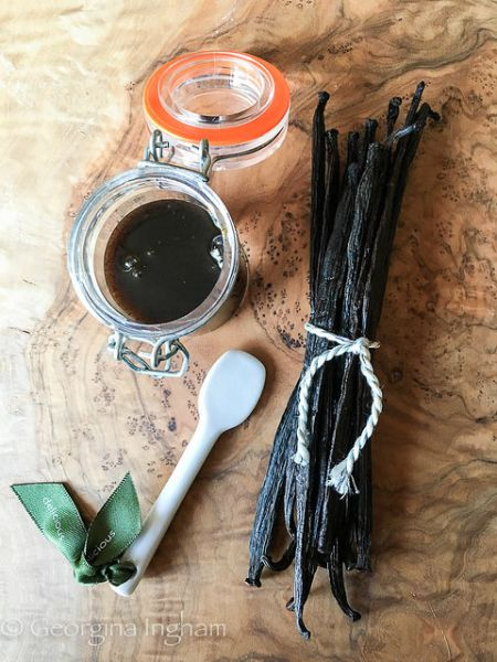 Homemade Vanilla Extract & Vanilla Paste