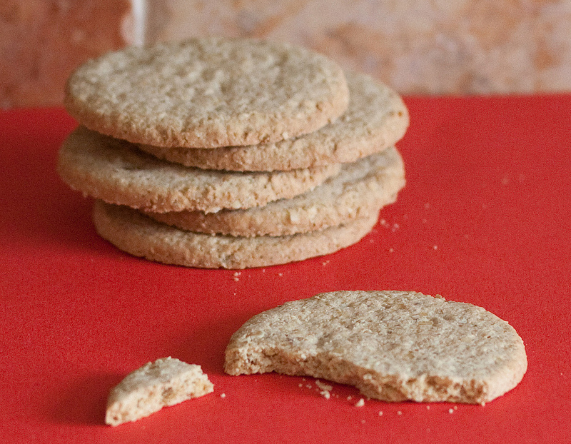 Stem Ginger Oatmeal Cookies