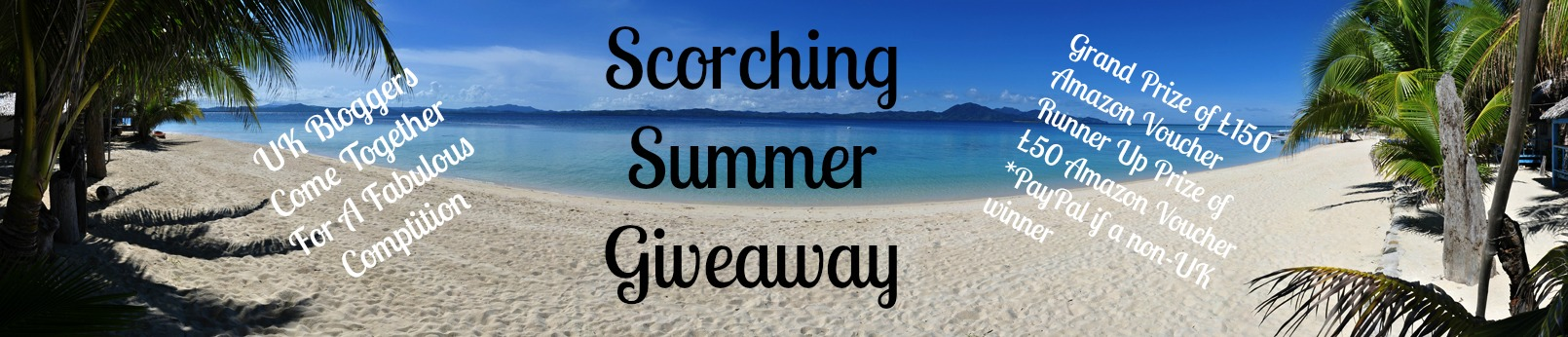 Scorching Summer Giveaway with UK Bloggers