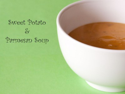 Sweet Potato & Parmesan Soup